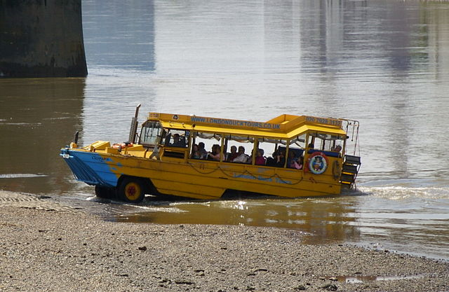 Duck Tour boat